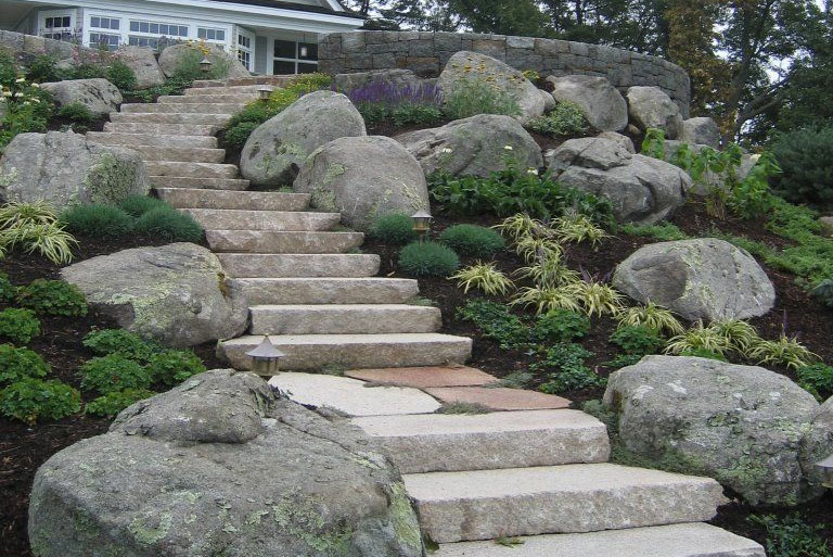 Walkways and Steps